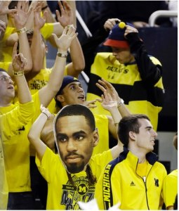 Sadly, my consecutive games attended streak at Crisler was snapped, but for a very good reason.